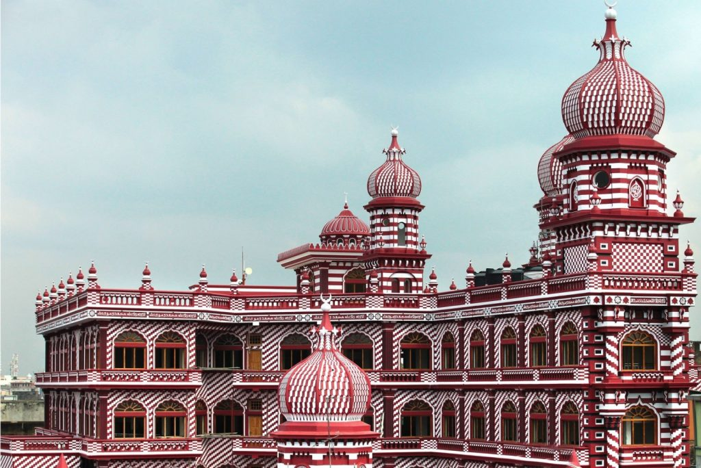 Image result for JAMI UL-ALFAR MOSQUE colombo